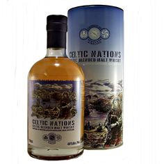 Bruichladdich Celtic Nations Blended Malt Whisky Scottish and Irish available to buy online at specialist whisky shop whiskys.co.uk Stamford Bridge York