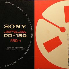 Sony, Magnetic Tape Packaging (via Dame's)