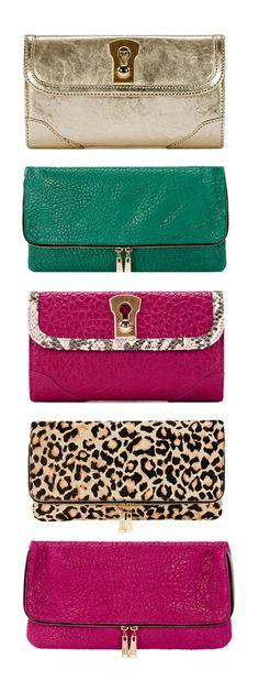 beautiful wallets / clutch purses. ♥✤   Keep the Glamour   BeStayBeautiful