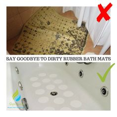 Bath Mats Bathroom Kitchen Door Floor Tub Shower Safety Mats Anti-bacteria Professional With Drain High Standard In Quality And Hygiene Non Slip Bath Mat With Suction Cups Home & Garden