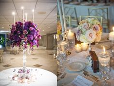 Roamntic floral display and table setting, Sandra Downie events