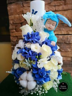 Christening, Penguin, Hanukkah, Wreaths, Flowers, Handmade, Diy, Wedding, Home Decor