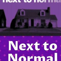 Next to Normal Ernest Borgnine, Next To Normal, Online Coaching, Psychiatry, S Stories, Pop Rocks, Buy Tickets, Musical Theatre, Master Class