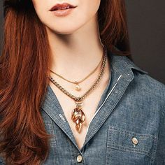 Great necklace layering
