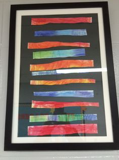 1st Grade Color Patterns - neat!