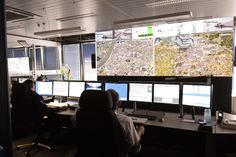 Antwerp Police Department | Barco video wall