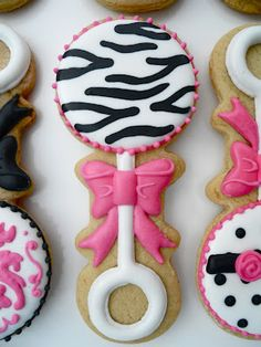 Oh Sugar Events: Born to be Wild Cookies