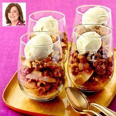 Thanksgiving recipes: Apple-Rum Raisin Crisp