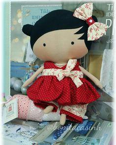 Baby Tilda. Roupa de boneca. Tilda