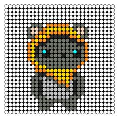 Ewok - Star Wars Perler Bead Pattern