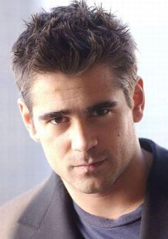 Colin Farrell was my inspiration for Colin Gaines in both Covenant and Second Sight.