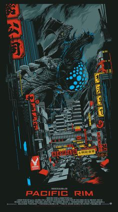 pixalry  Pacific Rim: Otachi - Created by Ken Taylor