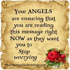 To learn about signs your Angels and passed loved ones may send from Heaven CLICK HERE ➡ http://www.myangelcardreadings.com/angelsigns