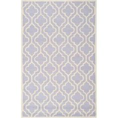 Safavieh Cambridge Kirsten Hand-Tufted Wool Area Rug, Silver