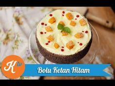 Resep Kue Bolu Ketan Hitam (Black Rice Cake Recipe Video)