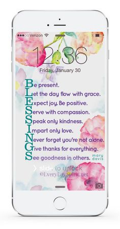 Every Day Spirit Lock Screens is an app of more than 550 beautiful, handmade… Encouragement Quotes, Bible Quotes, Bible Verses, Me Quotes, Scriptures, Christian Pictures, Spiritual Messages, Happy Colors, Powerful Words