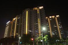 Архитектурная подсветка жилых зданий