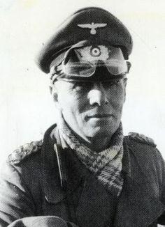 Erwin Rommel, who led the Afrika Korps before trying to kill his leader Hitler