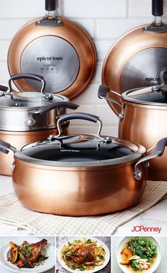 All the pots and pans you actually require is an excellent knife, a way of honing it, a slicing board and a couple of pans. You may choose a bit more pots and pans however you can cook with simply that. Kitchen Items, Kitchen Utensils, Kitchen Gadgets, Kitchen Decor, Kitchen Appliances, Kitchen Tools, Kitchens, Copper Pots, Copper Kitchen