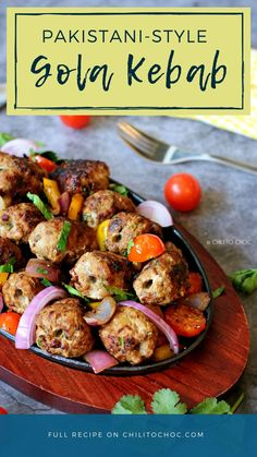 These oval kebabs are seasoned with Pakistani spices and meat tenderizer. Traditionally, cooked over charcoal they have a very succulent, melt-in-the-mouth texture. Kebab Recipes, Indian Food Recipes, Beef Recipes, Vegetarian Recipes, Chicken Recipes, Cooking Recipes, Ethnic Recipes, Appetizer Recipes, Yummy Recipes