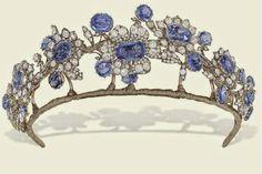 The Royal Order of Sartorial Splendor: Tiara Thursday: The Barberini Sapphire Tiara