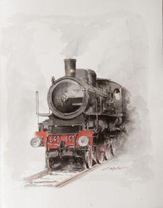 #Francesco_Capello #Watercolor