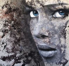Saatchi Online Artist Jerom Art; Painting, Blue Eyes #art