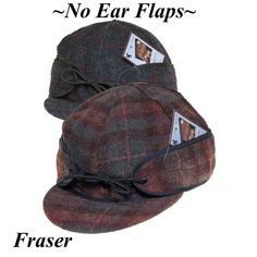 Wyoming Traders Wool Cap / Fraser Plaid / With No Ear Flaps Wyoming, Saddle Bags, Baseball Hats, Ear, Plaid, Backpacks, Pure Products, Wool, Baseball Caps