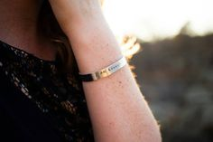 We all have those days when we just don't feel like we are good enough for those around us. Like we don't measure up. Days when we feel down and out. Well here is a bracelet to help us through those days. A positive reminder that we are enough. We got this no matter what anyone might say or do.   This hand stamped cuff is 6 inches long and is adjustable to fit most wrist sizes. Made of 100% aluminium, it is tarnish free and hypoallergenic. It is lightweight and perfect for everyday wear…