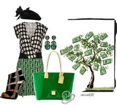 """""""Dooney & Bourke Shopper - II - If Money is the Root of All Evil, Can i Have Just One Day to be Bad??"""" by tezza630 on Polyvore"""