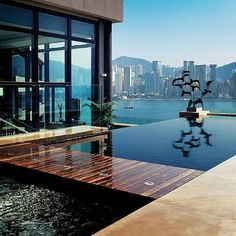 The world's most expensive hotel rooms ... the Presidential Suite at the Intercontinental Hong Kong. From HKD106,700 (13,000) a night.
