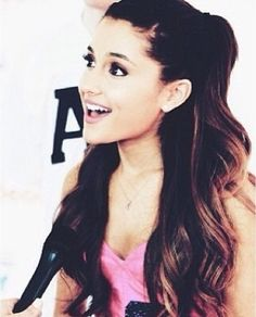 Ariana Grande... She is perfect in every single way