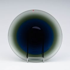 Timo Sarpaneva, IITTALA, signeerattu, 3812, 1950-luku, h 31 cm. Glass Design, Design Art, 31, Finland, Glass Art, 1950s, Plate, Collection, Glass