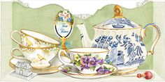 Kimberly Shaw Store - Tea-themed stationery and tea accessories