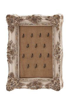 Baroque Burlap Jewelry Hanger by UMA Enterprises Inc. on @HauteLook