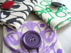 coin purses by sneezerville | Sewing Ideas