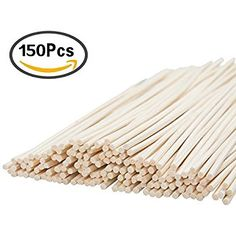 Keriber 150 Pieces Reed Diffuser Sticks Replacement Rattan Reed Sticks Wood Oil Diffuser Sticks,9.5 Inches