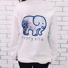 Sneak peak of the new Ivory Ella shirt