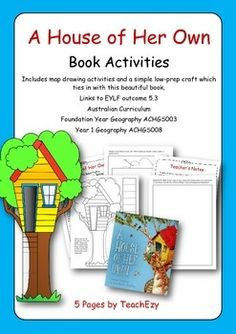 "Book Activity teaching Resource for ""A House of Her Own"""