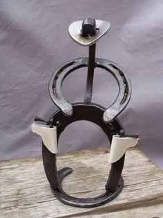 Make My Day  ///  horseshoe cowboy by BillTheBlacksmith on Etsy, $24.00
