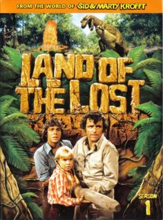 Land Of The Lost TV Series (1974-1976) Sid & Marty Kroft Spencer Milligan, Wesley Eure, Kathy Coleman, Phillip Paley, Sleezstak, Pacu, Chaka
