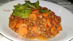 Pikantná šošovica na turecký spôsob (fotorecept) - Recept