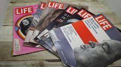 Life Magazines lot of 6 Vintage 1971 by RandomGoodsBookRoom, $20.00