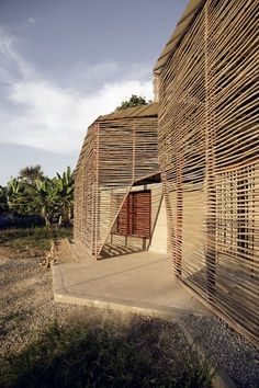 Bamboo Architecture, Vernacular Architecture, Ancient Architecture, Sustainable Architecture, Architecture Details, Residential Architecture, Contemporary Architecture, Environmental Architecture, Pergola