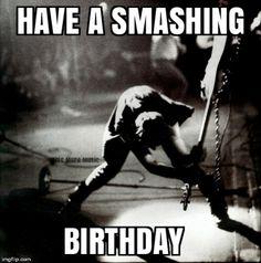 An image tagged the clash,punk rock,birthday,paul simonon,bass guitar Sister Birthday Funny, Happy Birthday Paul, Happy Birthday Wishes For Him, Happy Birthday Vintage, Rude Birthday Cards, Happy Birthday Quotes, Happy Birthday Greetings, Birthday Humorous, Birthday Sayings