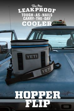 It's the only personal cooler tough enough to go from sunrise surf sessions to long days at the crag.