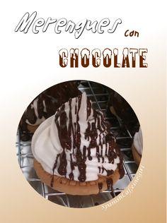 Cómo hice los merengues cubiertos de chocolate.