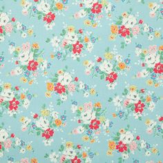 Cath Kidston Fabric Clifton Rose 20x20 by MissElany on Etsy