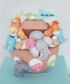Cutest Cakes for baby showers or first birthdays