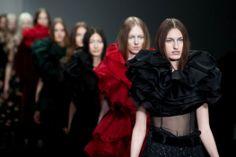 LFW| John Rocha Aw14 fashion week, catwalk, milinery, iamnrcfw